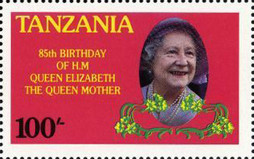 [The 85th Anniversary of the Birth of Queen Elizabeth the Queen Mother, 1900-2002, Typ IX]