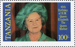 [The 85th Anniversary of the Birth of Queen Elizabeth the Queen Mother, 1900-2002, Typ IY]
