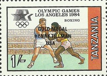 [Winners of the Olympic Games - Los Angeles, USA, Typ JD]