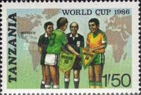 [Football World Cup - Mexico 1986, Typ LH]