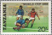 [Football World Cup - Mexico 1986, Typ LK]