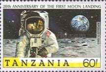 [History of Space Exploration and 20th Anniversary of First Manned Landing on Moon, Typ TW]