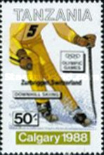 [Winter Olympic Games - Calgary 1988, Canada - Gold Medal Winners, Typ UK]