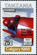 [Winter Olympic Games - Calgary 1988, Canada - Gold Medal Winners, Typ UL]