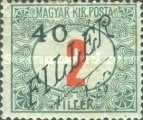 [Hungarian Postage Due Stamps Surcharged, Typ A]