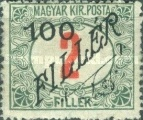 [Hungarian Postage Due Stamps Surcharged, Typ A2]