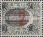 [Hungarian Postage Due Stamps Surcharged, Typ A3]