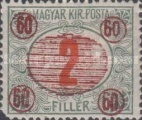 [Hungarian Postage Due Stamps Surcharged, Typ A4]