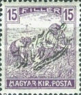 [Hungarian Stamps Surcharged, type C1]