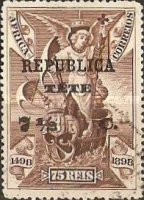 [Portuguese Africa Postage Stamps Overprinted