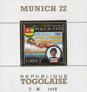 [Airmail - Medal Winners of Munich 1972, type ]