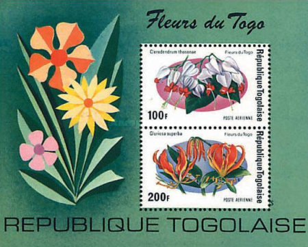 [Airmail - Flowers, type ]