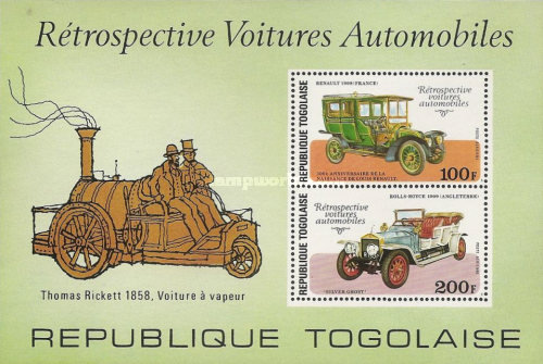 [Airmail - The 100th Anniversary of the Birth of Louis Renault, 1877-1944 - Classic Cars, type ]