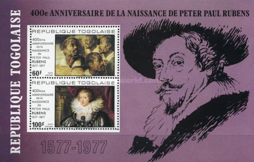 [Airmail - The 400th Anniversary of the Birth of Peter Paul Rubens, 1577-1640, type ]