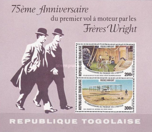 [Airmail - The 75th Anniversary of the First Powered Flight by the Wright Brothers, type ]