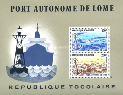 [Airmail - Port of Lome, type ]