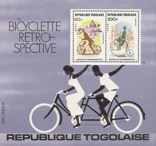 [Airmail - Development of the Bicycle, type ]