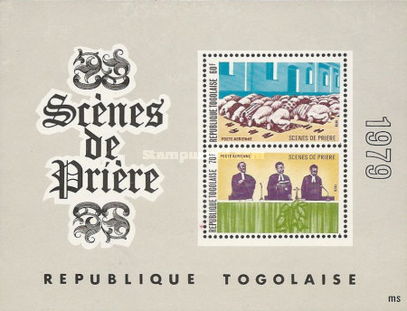 [Airmail - Religion in Togo, Typ ]