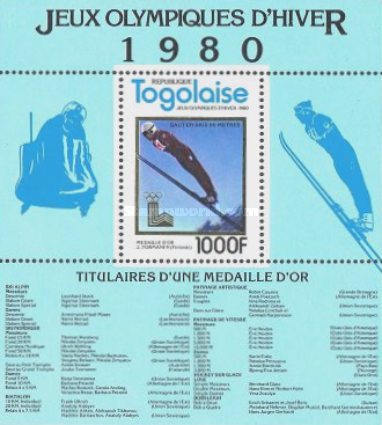 [Winter Olympic Games - Lake Placid, USA - Gold Medal Winners, type ]