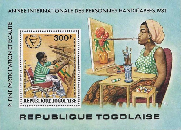 [Airmail - International Year of Disabled People, type ]
