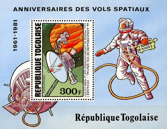 [Airmail - Space Anniversaries, type ]