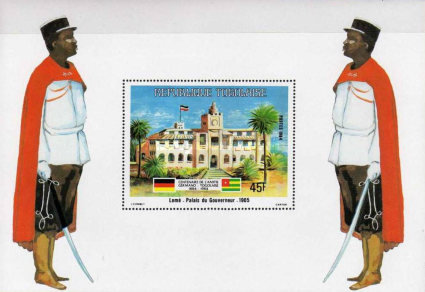 [The 100th Anniversary of Proclamation of German Protectorate, Typ ]