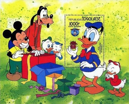 [Airmail - The 50th Anniversary of Donald Duck, Typ ]