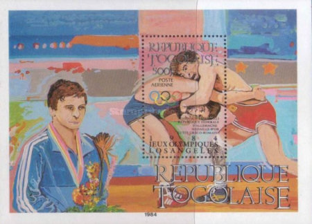 [Airmail - Olympic Medal Winners, type ]