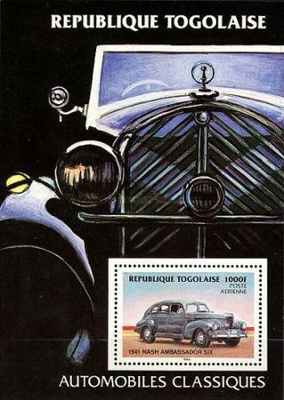 [Airmail - Automobiles, type ]