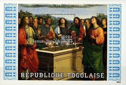 [Airmail - The Twelve Apostles - Scenes from the Bible, type ]