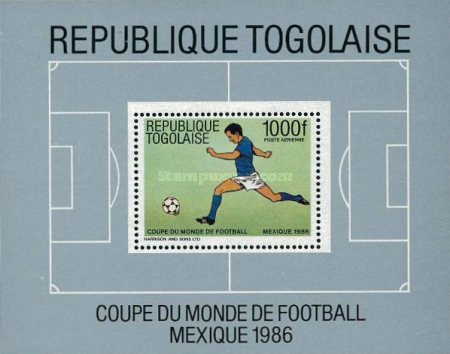 [Airmail - Football World Cup - Mexico 1986, type ]