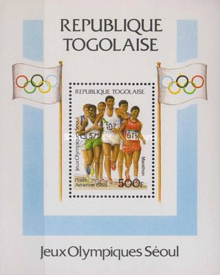[Airmail - Olympic Games - Seoul, South Korea, type ]