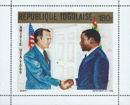 [Friendship between USA and Togo, type ]