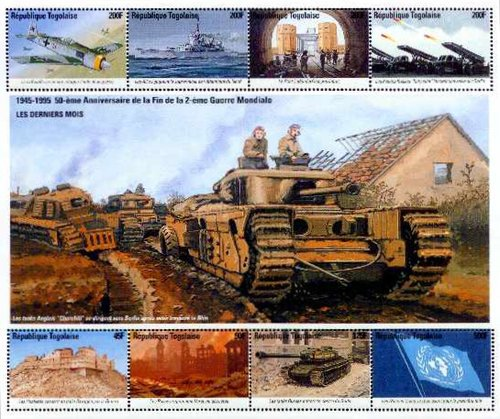 [The 50th Anniversary of End of Second World War - Victory in Europe, type ]