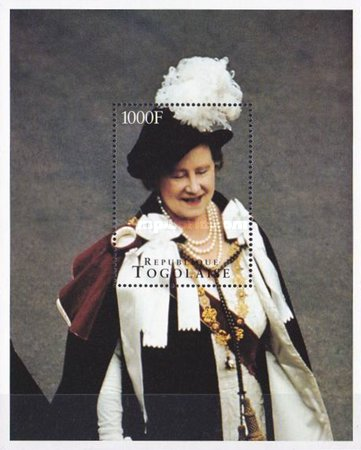 [The 95th Anniversary of the Birth of Queen Elizabeth the Queen Mother, 1900-2002, type ]