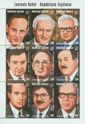 [The 100th Anniversary of Nobel Prize Turst Fund - Nobel Prize Winners, type ]