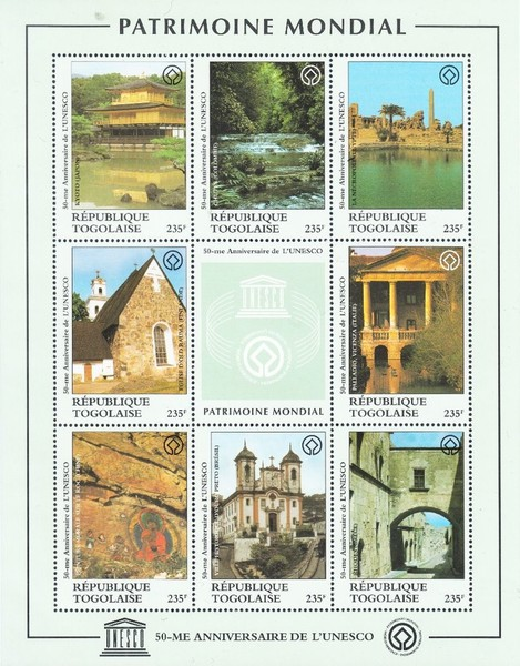 [The 50th Anniversary of UNESCO World Heritage Site, type ]