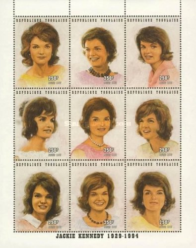[Jacqueline Kennedy-Onassis Commemoration, 1929-1994, type ]