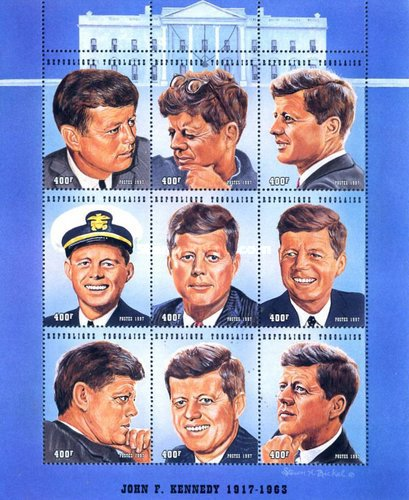 [John F. Kennedy Commemoration, 1917-1963, type ]
