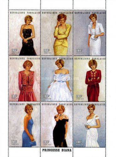 [Princess Diana Commemoration, 1961-1997, type ]