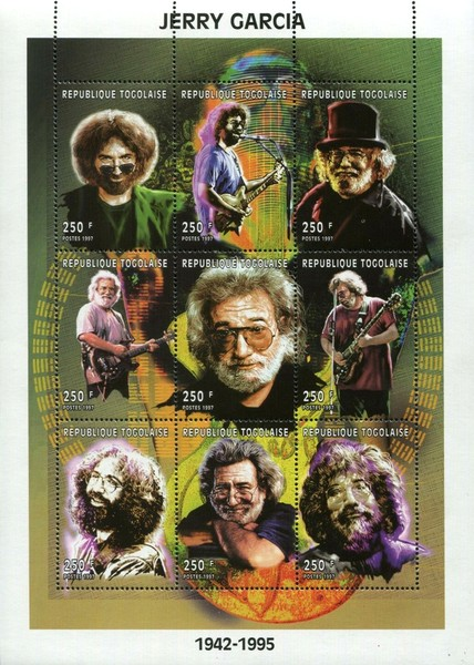 [The 2nd Anniversary of the Death of Jerry Garcia, 1942-1995, type ]
