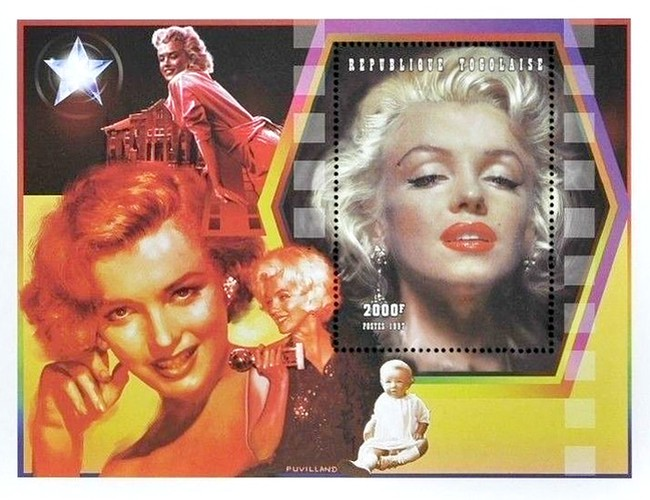 [The 35th Anniversary of the Death of Marilyn Monroe, 1926-1962, type ]