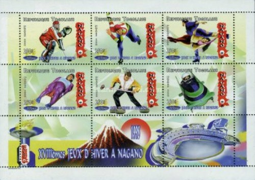 [Winter Olympic Games - Nagano 1998, Japan, type ]