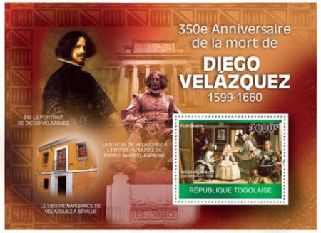 [The 350th Anniversary of the Death of Diego Velazquez, 1599-1660, type ]