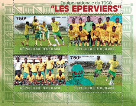 [Sport - National Football Team of Togo the Hawks, type ]