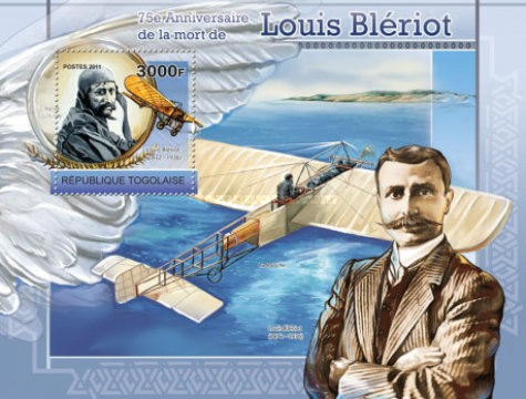 [The 75th Anniversary of the Death of Louis Bleriot, type ]
