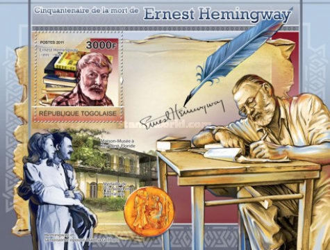 [The 50th Anniversary of the Death of Ernest Hemingway, type ]
