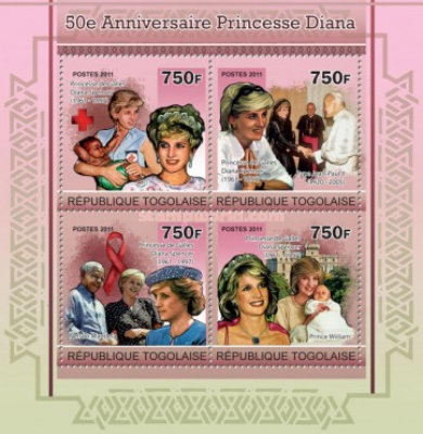 [The 50th Anniversary of Princess Diana, type ]