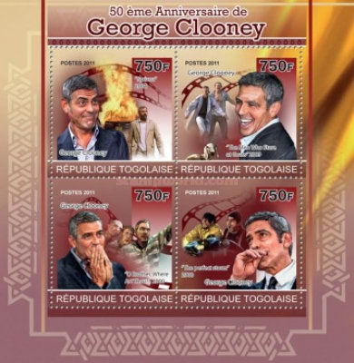 [The 50th Anniversary of George Clooney, type ]