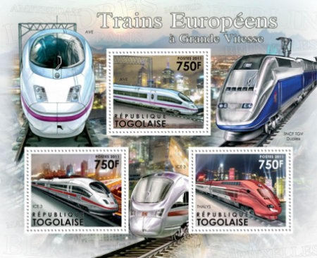 [Transport - Speed Trains of Europe, type ]